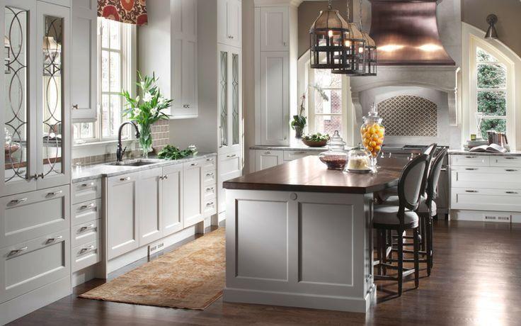 Остров на кухне: форма, размер, стиль, расположение в ...