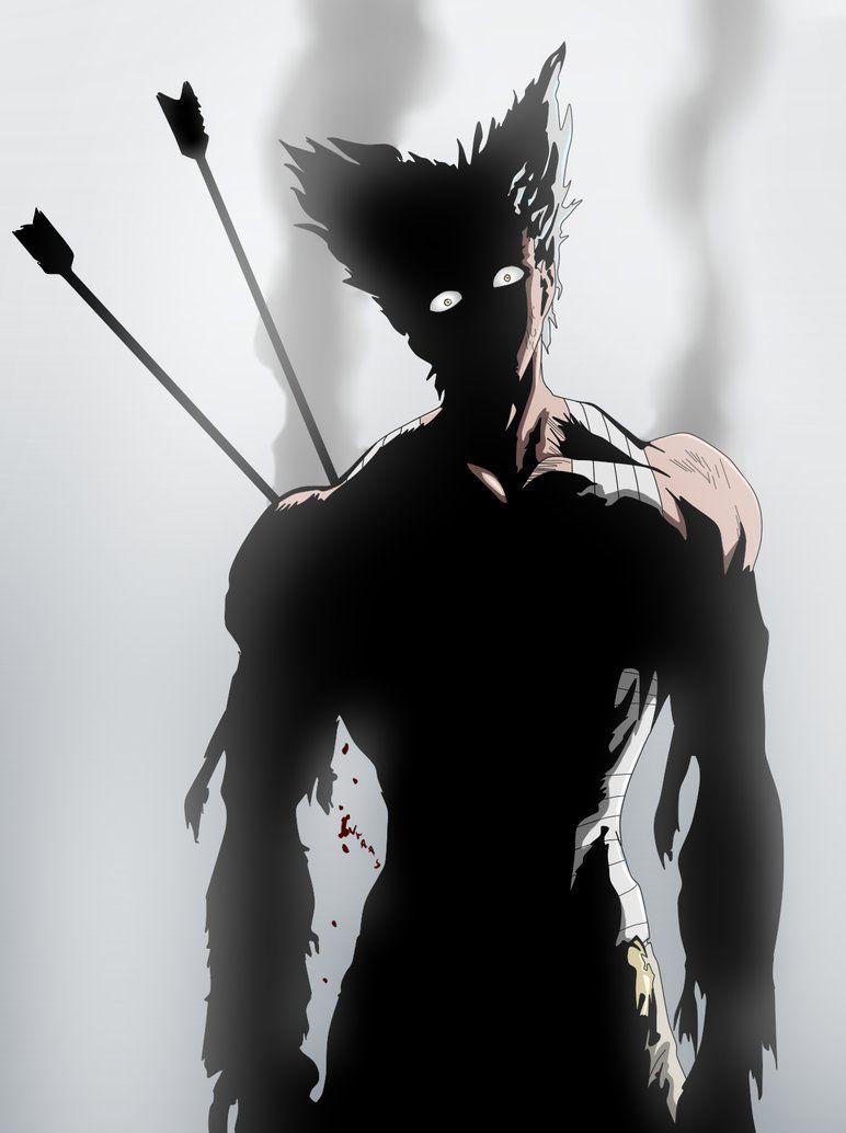 Garou Hero Hunter By Ivraas One Punch Man Manga One Punch Man Anime One Punch Man Garou one punch man wallpaper
