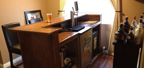In Bar Kegerator Man Cave Bar In 2019 Bar Man Cave Bar House