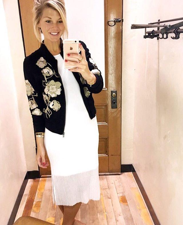 Loving this new embroidered jacket I picked up today!! ❤️❤️ (under $130!!) @liketoknow.it #liketkit http://liketk.it/2pgF0 #stylegram #fallfashion #lotd #ootd