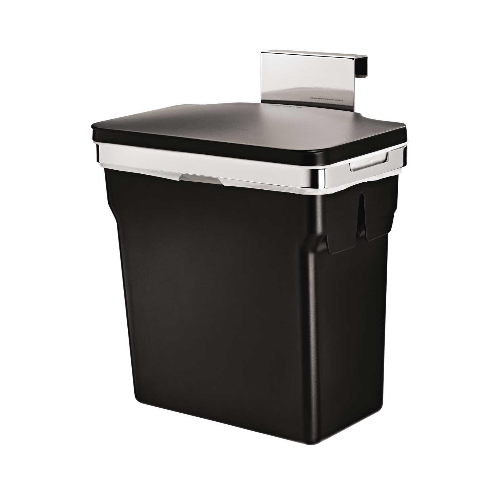 Simplehuman incabinet trash can litergallon just