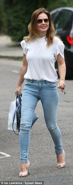 Geri halliwell peeing, movies with nude changing room scenes