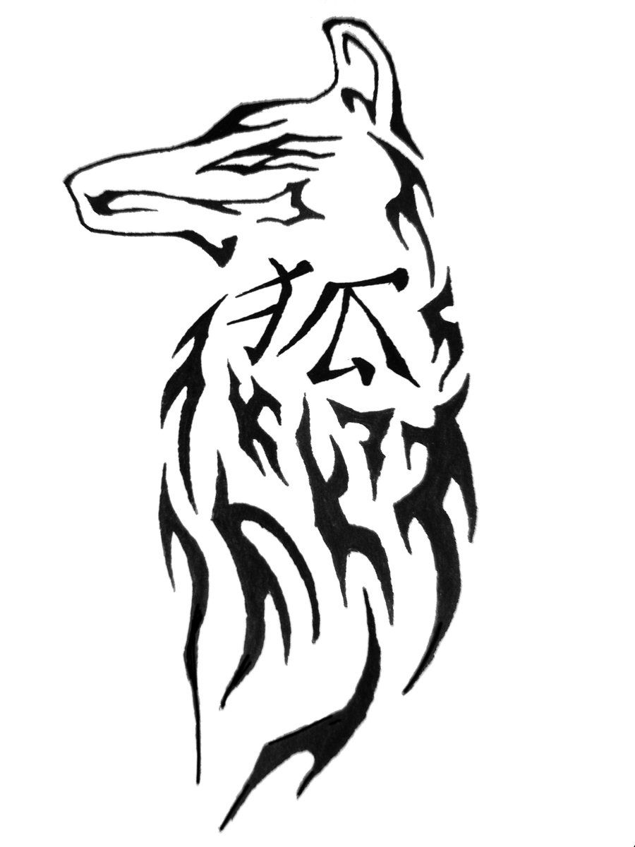 Chinese Symbol Tribal Fox By Aeroblade88 On DeviantART