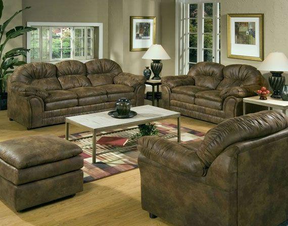 Pin by paul kollek on my dream living room furniture - Rustic living room furniture sets ...