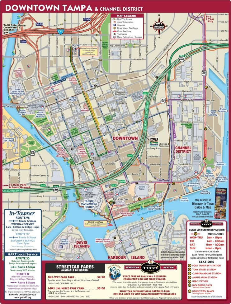 Tampa downtown map Conscious music Pinterest Usa cities and City