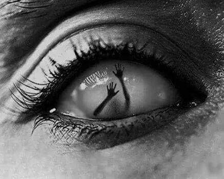 nadie ve los ojos, y en ellos se demuestra todo
