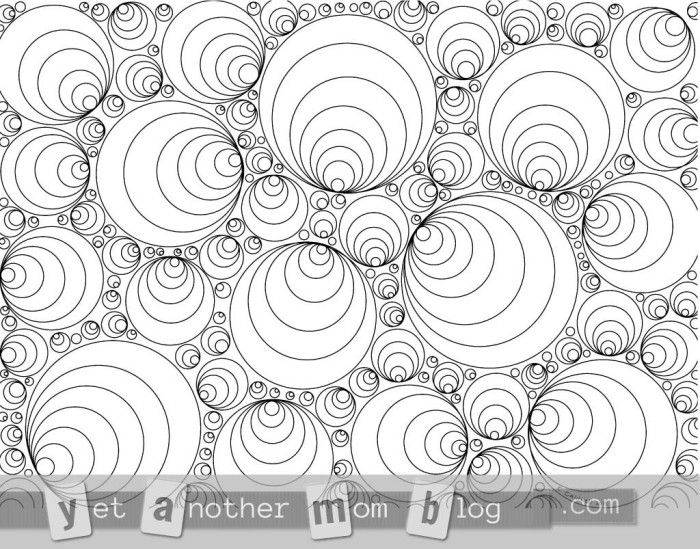Coloring Pages for Adults Circles! Free coloring pages