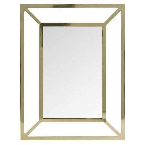 Prezzi E Sconti: #Maisons Du Monde Specchio In Metallo Dorato Ad Euro 22.99  In