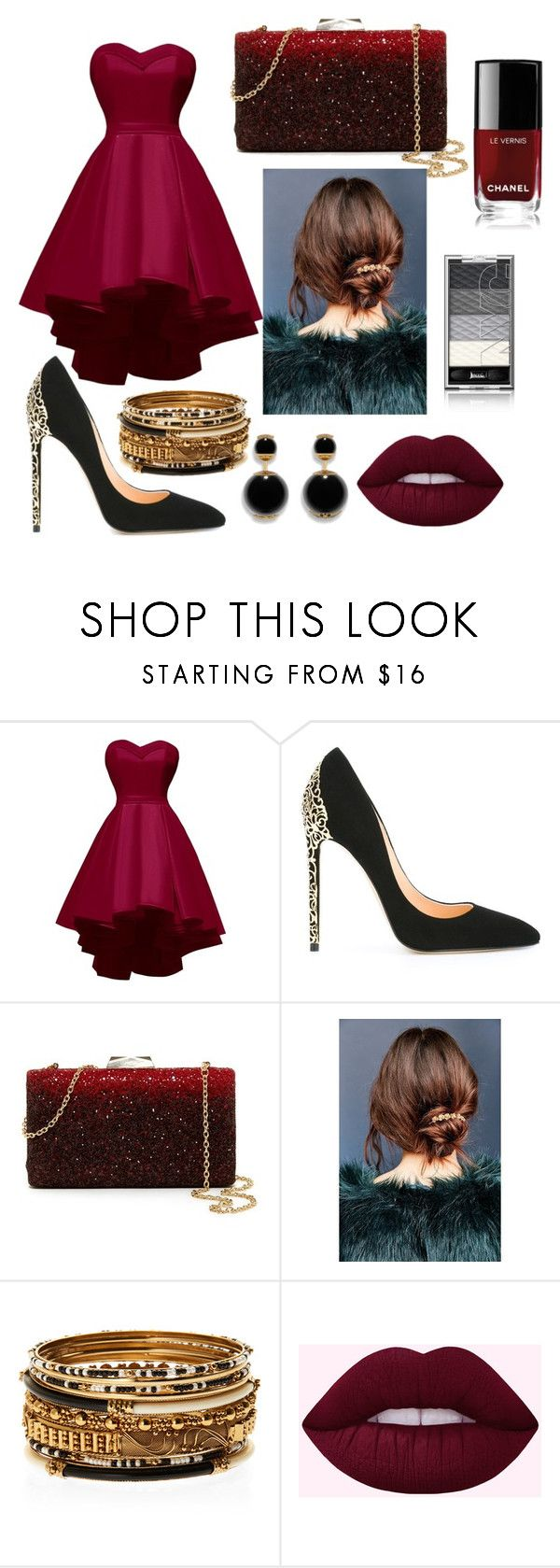 """serata di gala"" by margherita-alessandro ❤ liked on Polyvore featuring Cerasella Milano, Natasha, Urban Outfitters, Amrita Singh and Chanel"