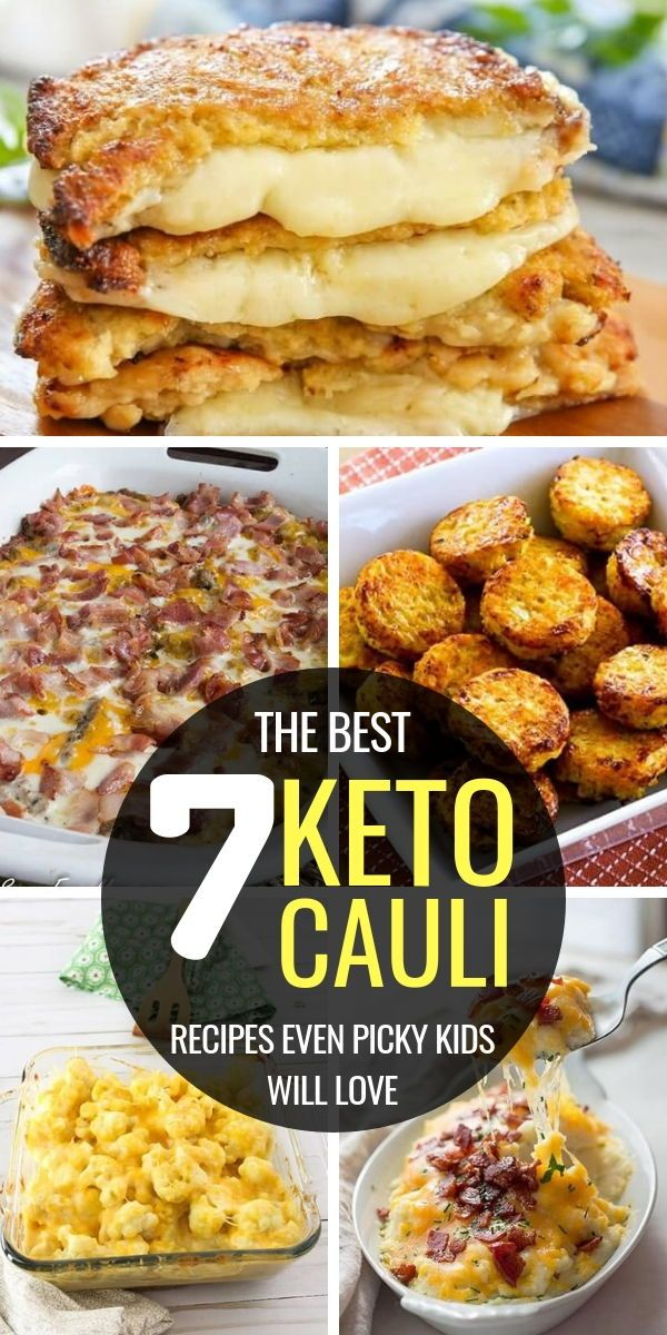 7 Keto Cauliflower Recipes to Lose Weight Easily images