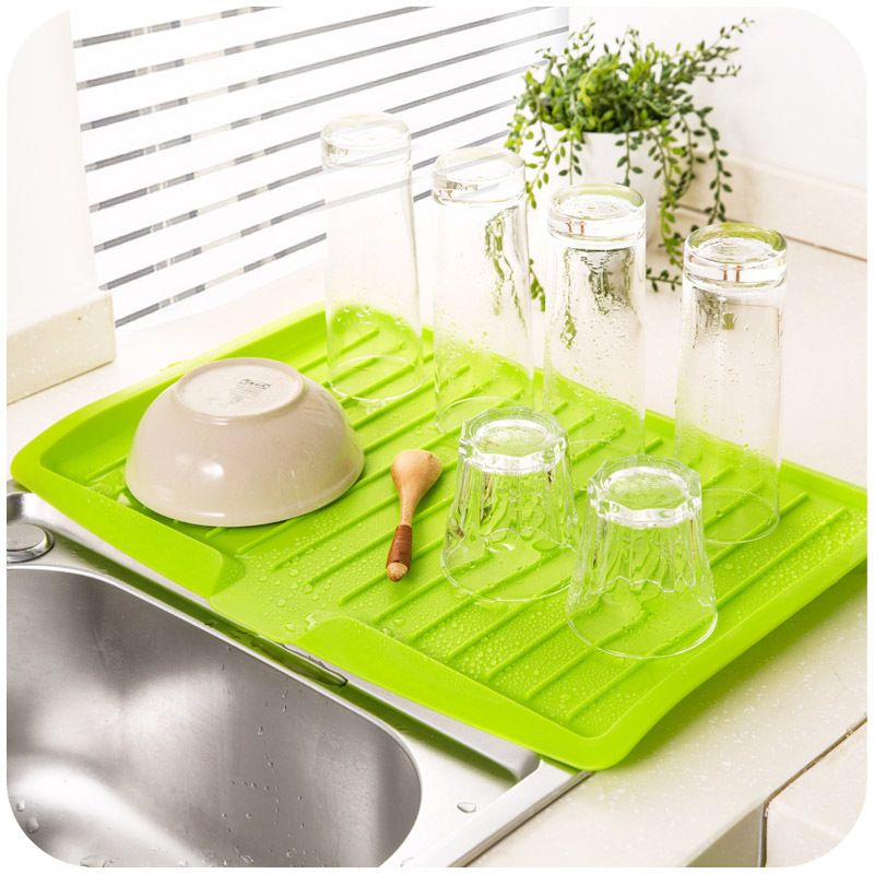 Vanzlife Companion dishes sink drain and plastic filter plate storage rack kitchen shelving rack Drain board  sc 1 st  Pinterest & Vanzlife Companion dishes sink drain and plastic filter plate ...