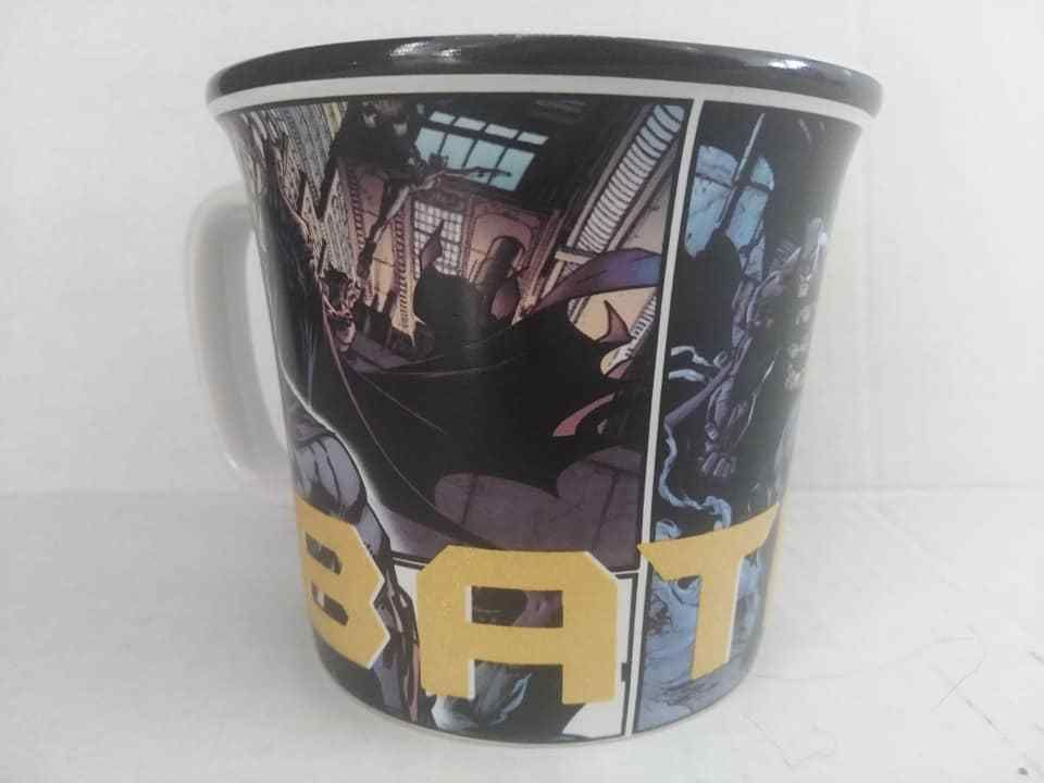 Dc Batman Mug Cup Tea Coffee Dark Knight Dc Comics Six Flags Rare Mugs Mug Cup Coffee Mugs