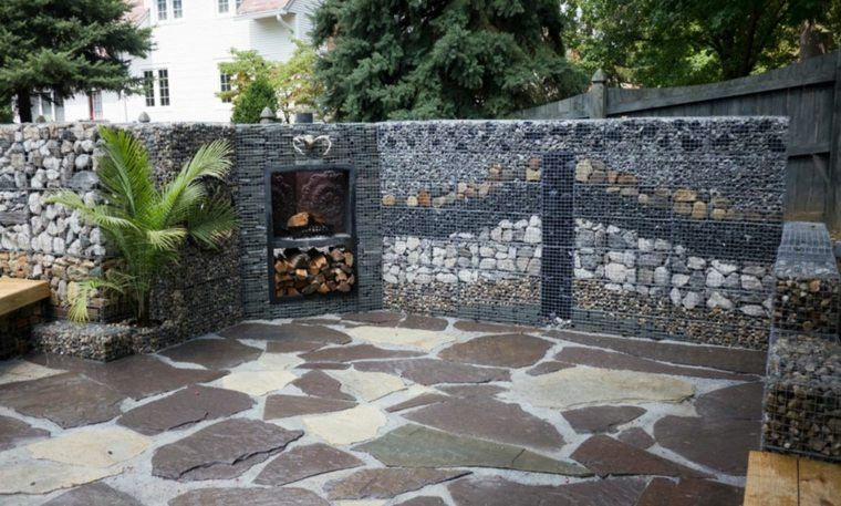 decoration mur terrasse clotures de jardin
