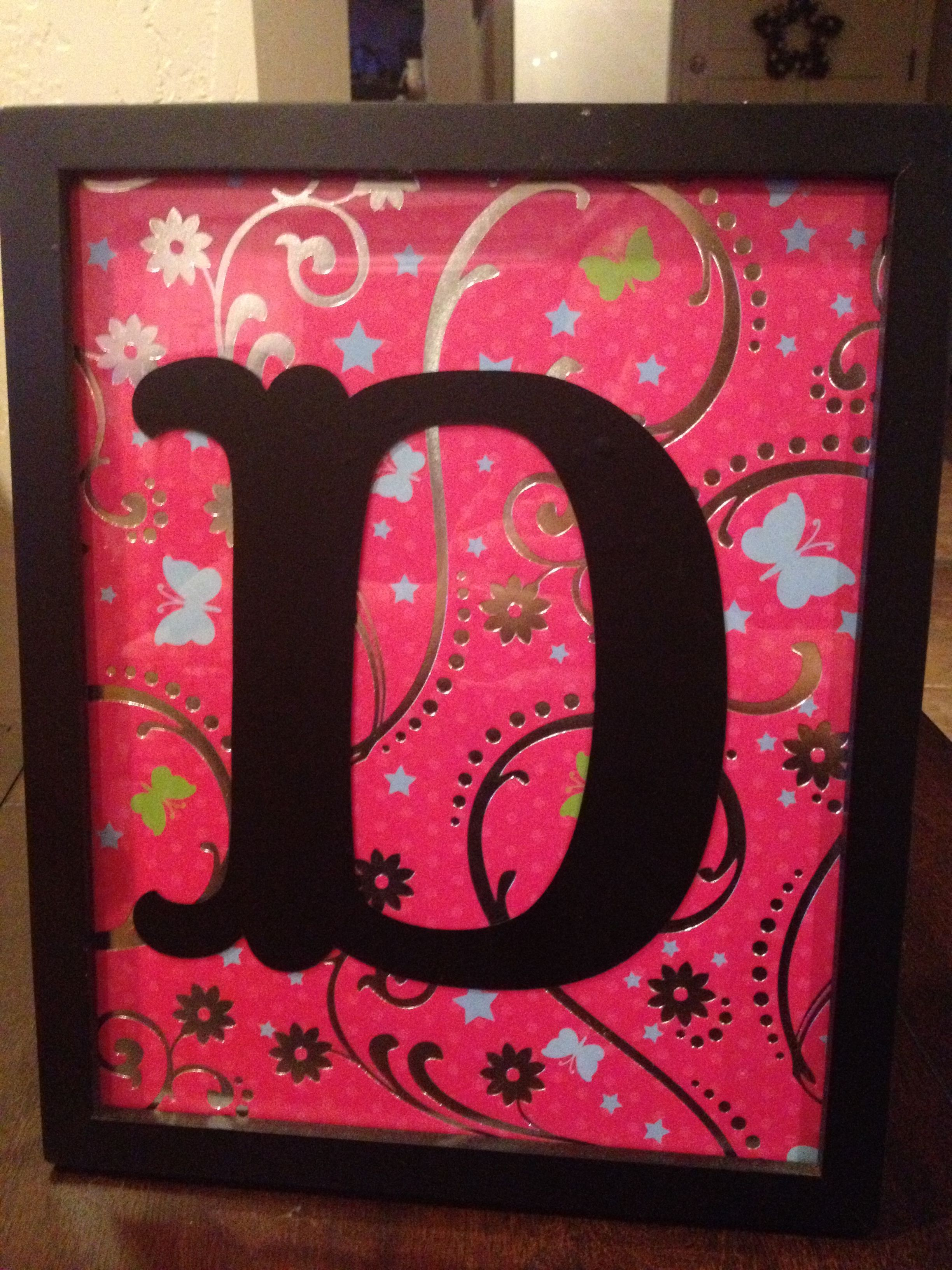 Initial frame 8x10 frame with a vinyl letter cut out by cricut initial frame 8x10 frame with a vinyl letter cut out by cricut spiritdancerdesigns Gallery