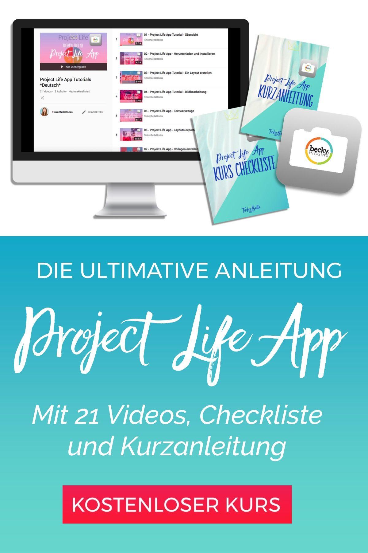 mit der project life app kannst du deine fotos und erinnerungen in