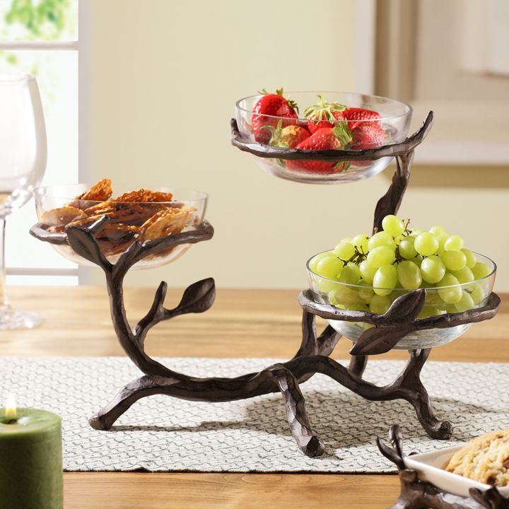 Twig Collection Glass Bowl Holder Decorative Bowls Decorative Plates And Bowls Glass Bowl
