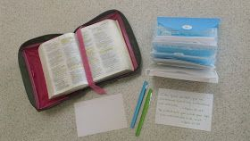 Pleasant Words: Keeping a Scripture Card File: Part 4 of Spend More Time with God