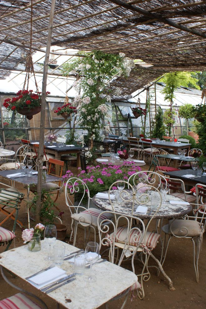 Petersham Nurseries Cafe In England Greenhouse Cafe Garden