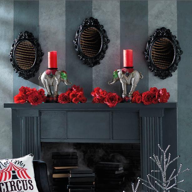 Black Infinity Mirror My Room Makeover Pinterest Infinity mirror - circus halloween decorations