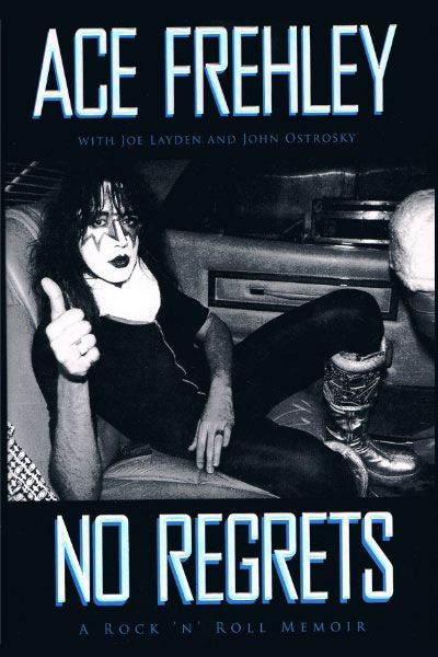 Ace Frehley (I also briefly dated John Ostronomy, one of the co-authors of this memoir...We're still facebook friends. Lol :)