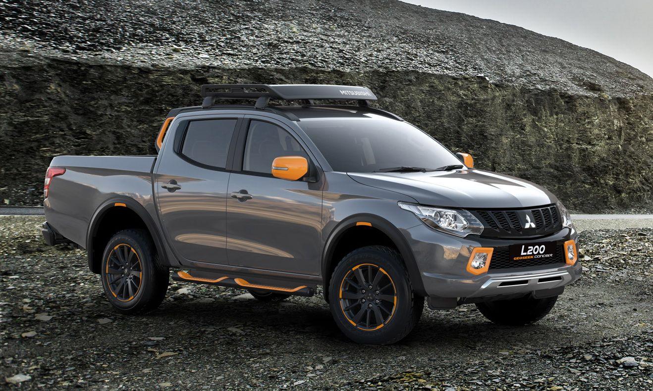 Mitsubishi Flavors Up L200 And Asx With Geoseek Concepts Carscoops Mitsubishi Truck Mitsubishi Mitsubishi Motors