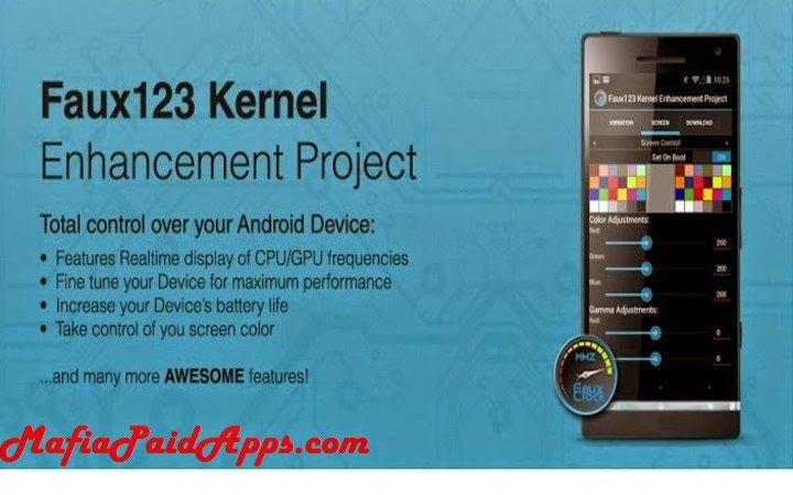Faux123 Kernel Enhancement Pro V2 5 9 Patched Apk Enhancement