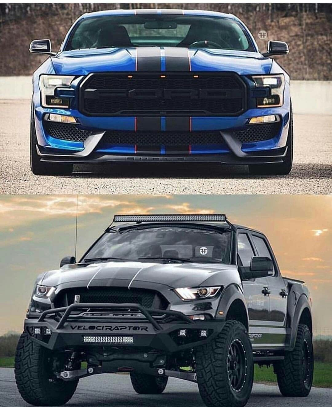Mustang raptor swap awesome vehicles ford trucks futuristic