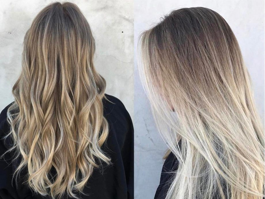 Gloss Smudging Is The Easy New Way To Disguise Your Roots Roots Hair Blonde Hair With Roots Hair Techniques