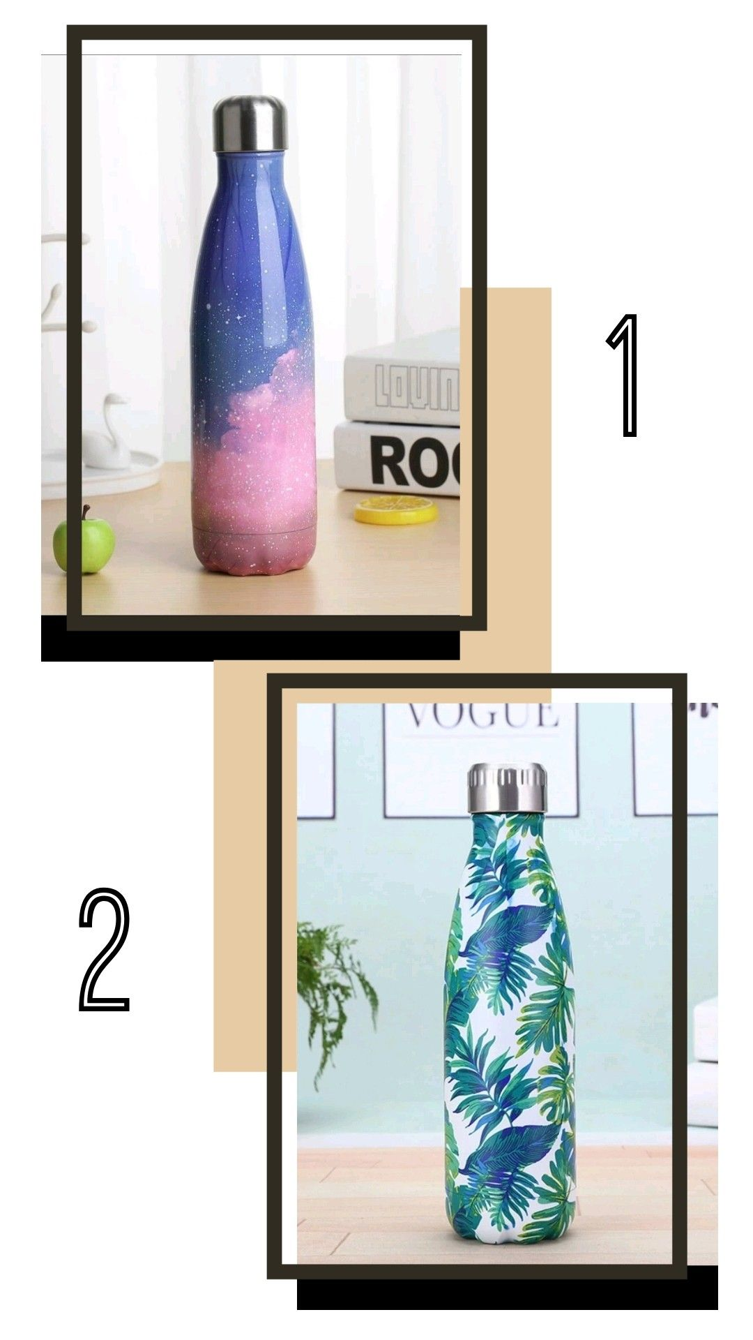 فعاليات ستوري انستا لو خيروك اختار الاحلى Reusable Water Bottle Water Bottle Bottle