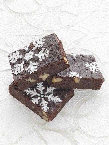 Saftige Walnuss-Schoko-Brownies