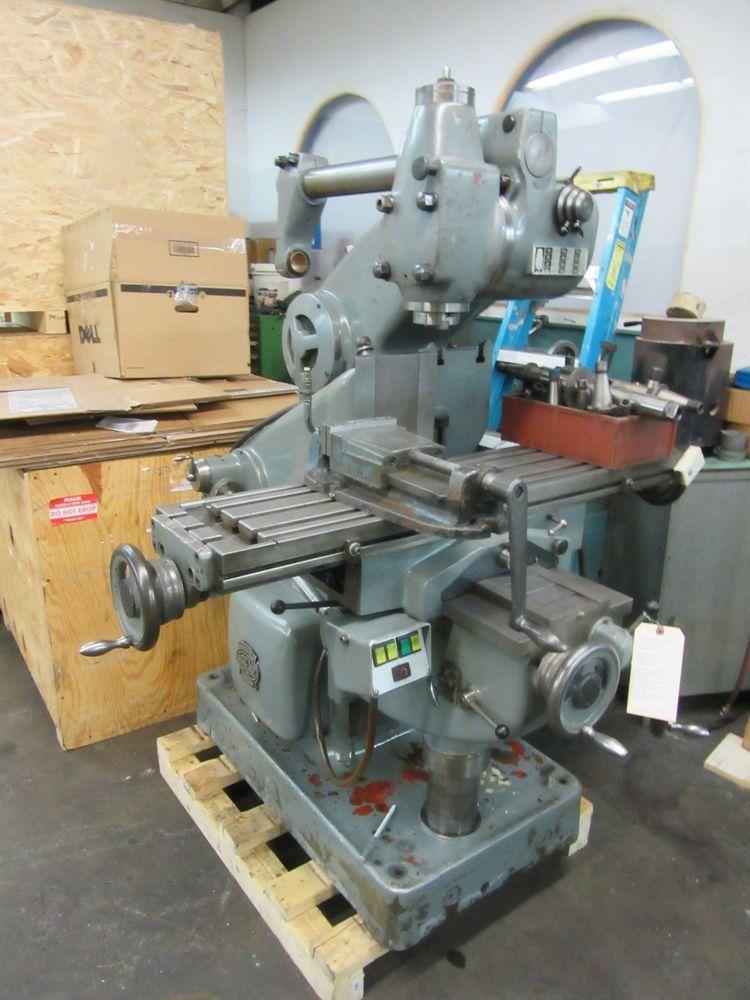 Used Milling Machines Ebay >> Abene Horizontal Vertical Milling Machine Model Vhf 3 Well