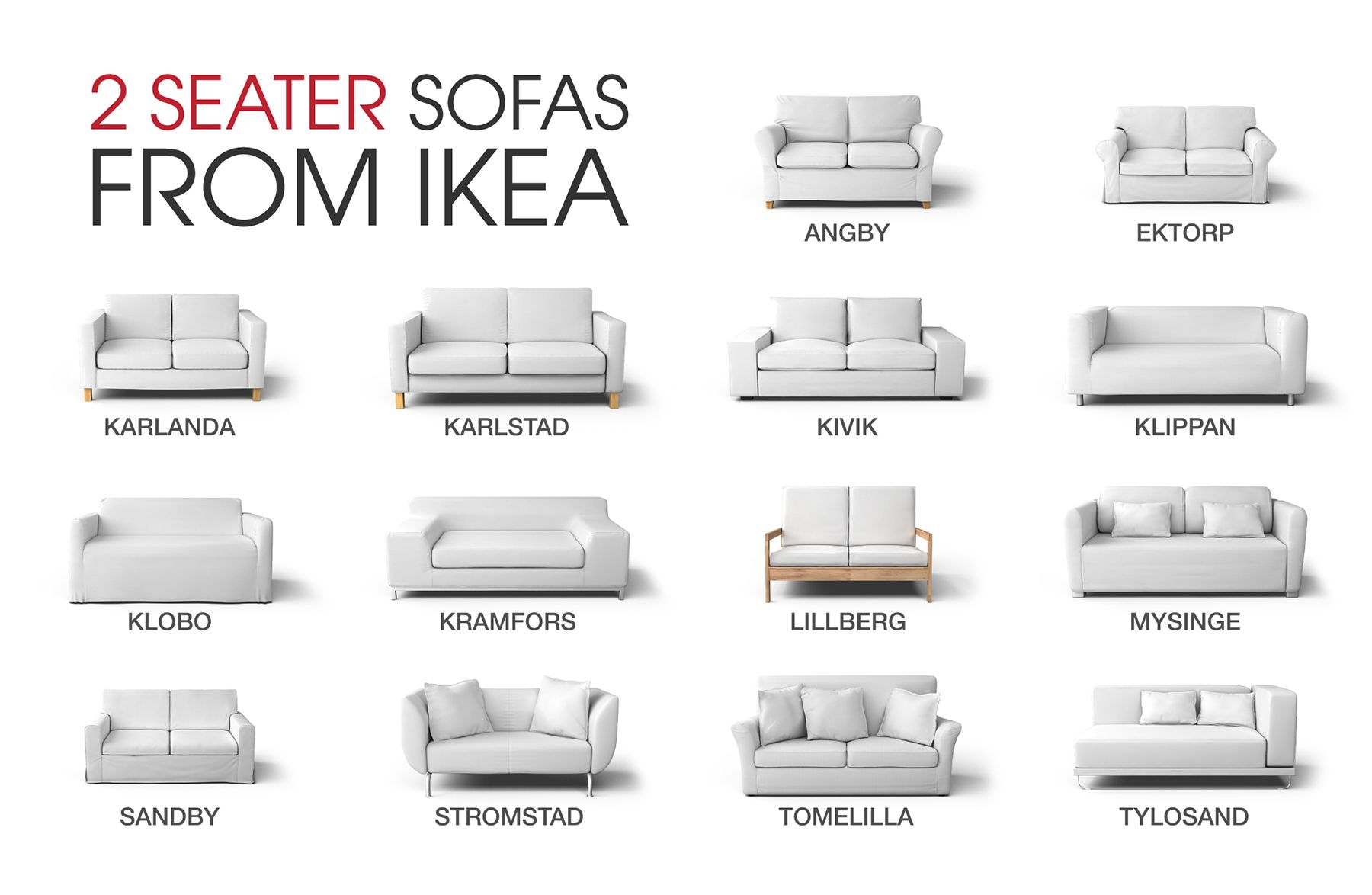 Ektorp 2seat Sofa Bed Dimensions Noteshares Com Sofa