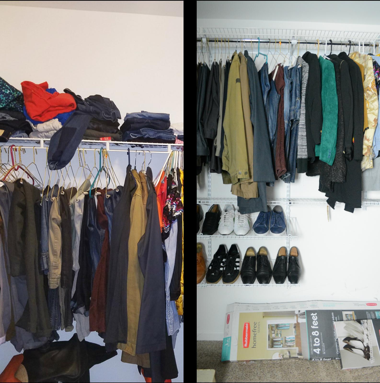 storage for closet the system organization organized organizational rubbermaid using fast fasttrack ideas garage getting in track