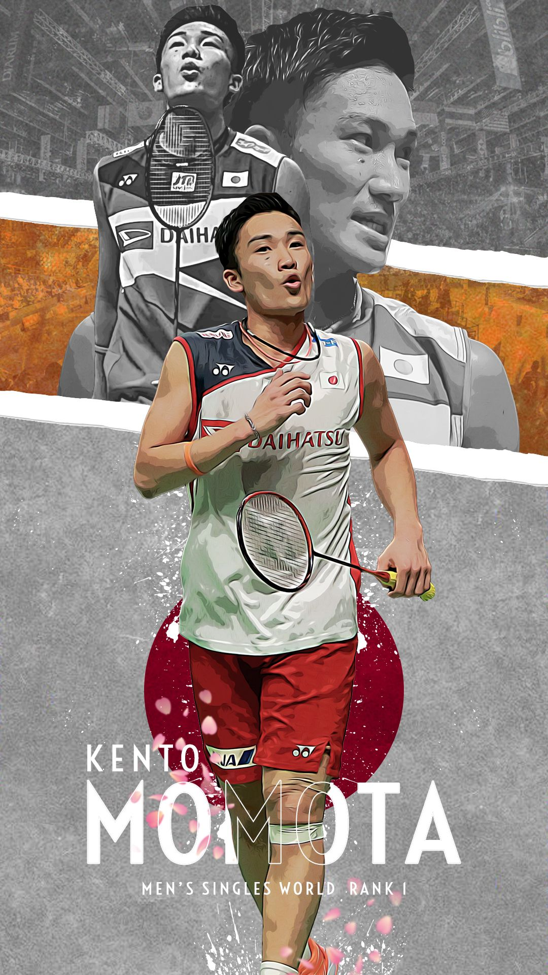 Kento Momota Badminton Players Men S Singles World Rank Number 1 Di 2020 Olahraga