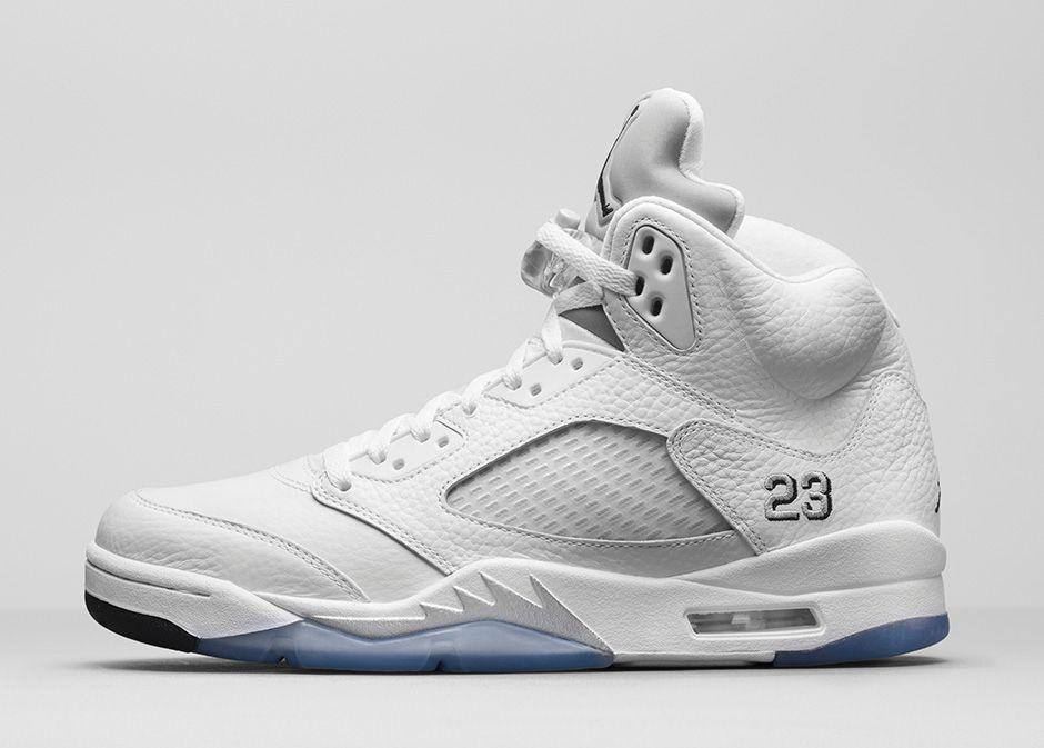 bbb2a3ec5130dd Air Jordan 5 Retro  Metallic Silver  gets re-Retro treatment Nike Air  Jordans