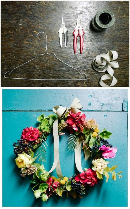 16 Amazing Things You Can DIY From Repurposed Hangers | Wire hangers ...