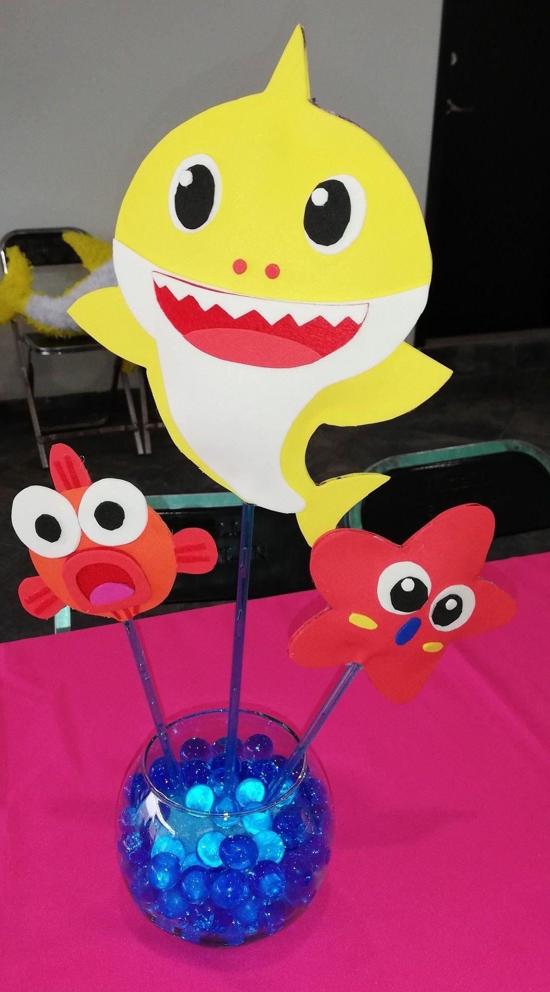 Pin by Kito Guzman on Party Baby Shark Shark themed