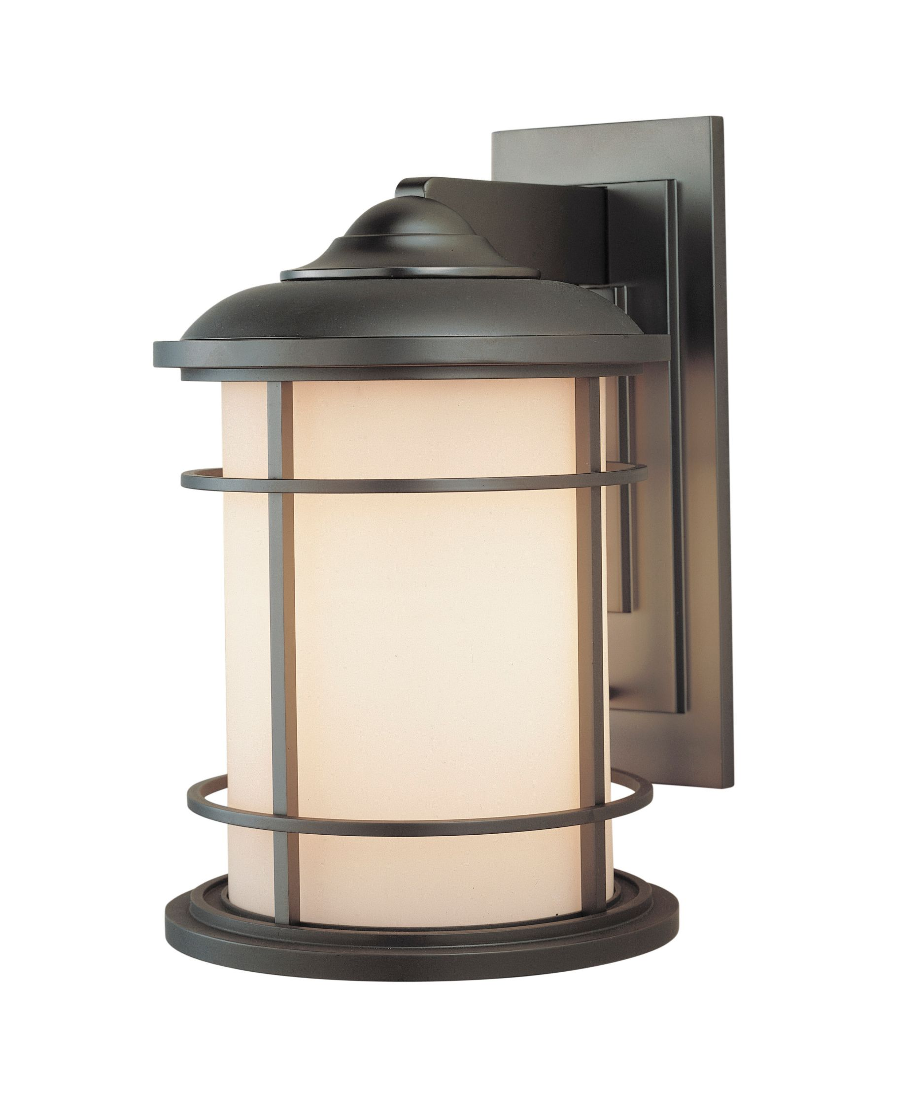 Feiss Lighthouse 15 Inch Tall 1 Light Outdoor Wall Light Capitol Lighting Bronze Outdoor Lighting Wall Mount Lantern Outdoor Sconces