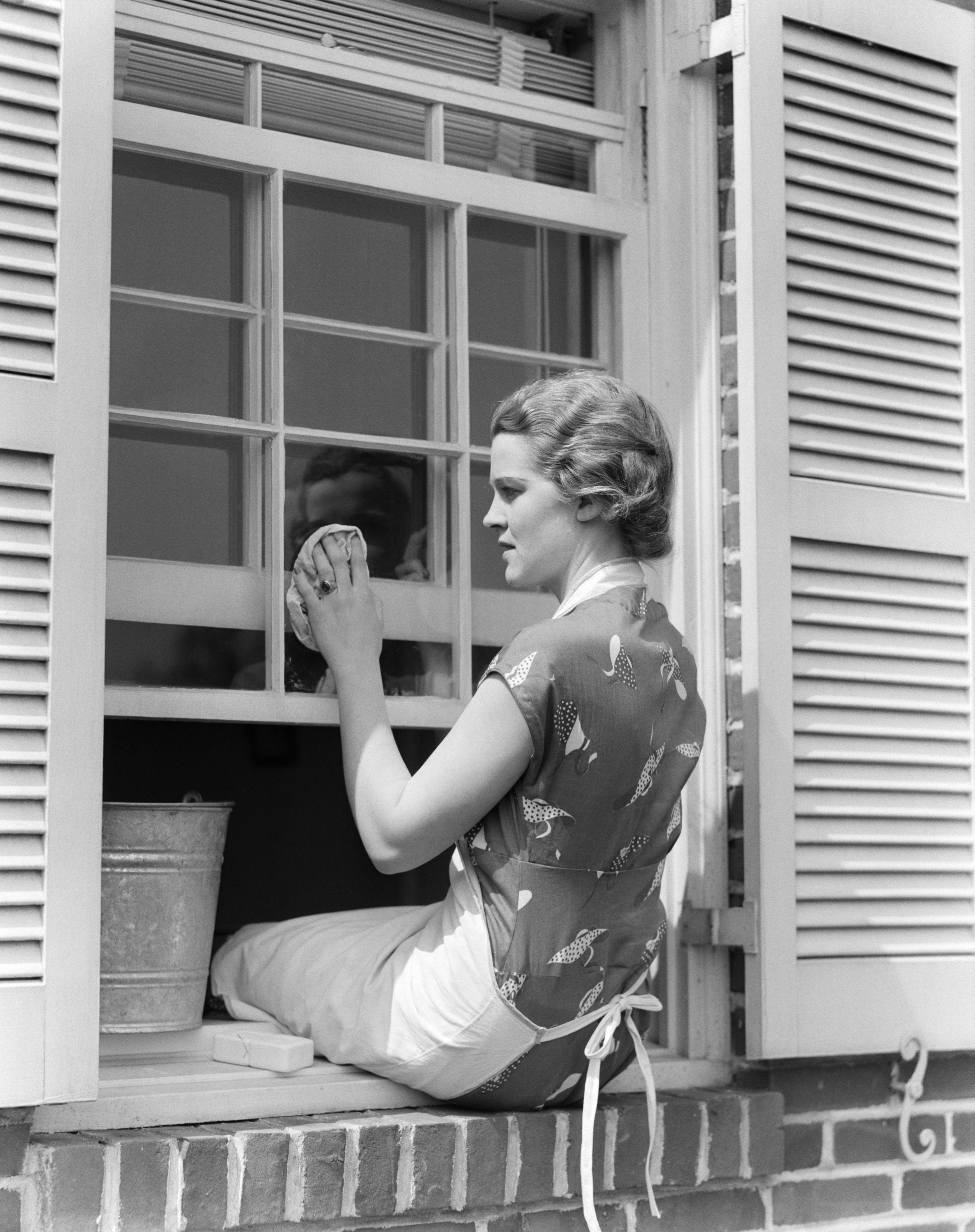 Window Washing Reinigungstipps Fenster Putzen Hausfrau