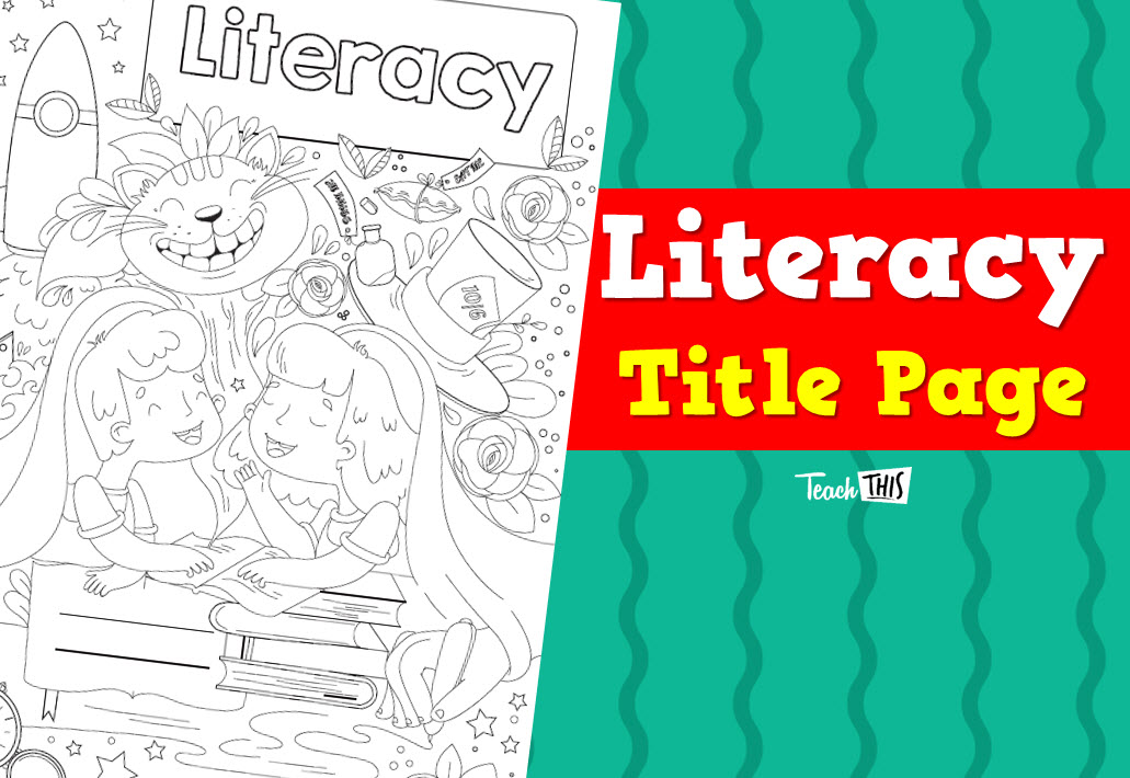 Title Page Literacy Literacy Books Book Cover Classroom Games