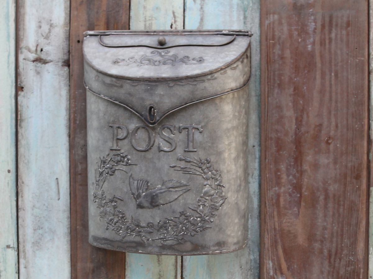 Briefkasten Mediterran Briefkasten Von Chic Antique Deko Pinterest Mailbox