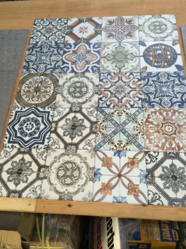 Moroccan Style Vintage Shabby Chic Topps Nikea Wall Floor