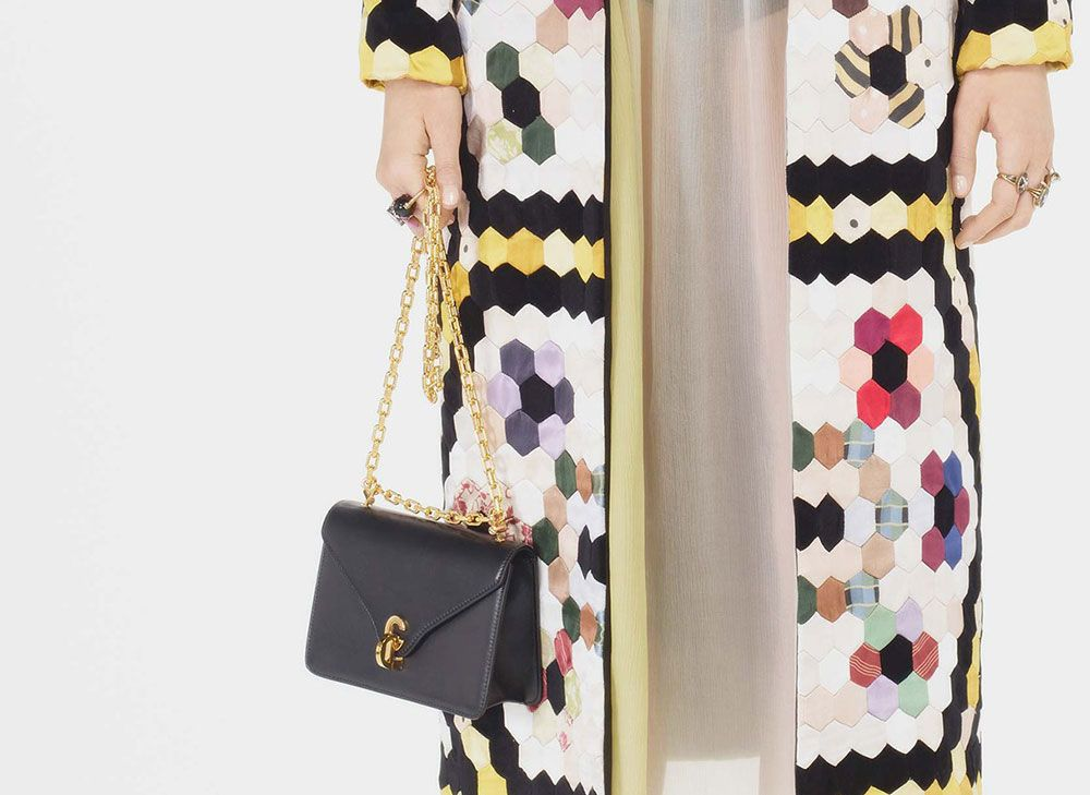 52f0774caaef Dior s New Creative Director Mixes Disparate Vintage Eras for Pre-Fall 2017  Bags - PurseBlog