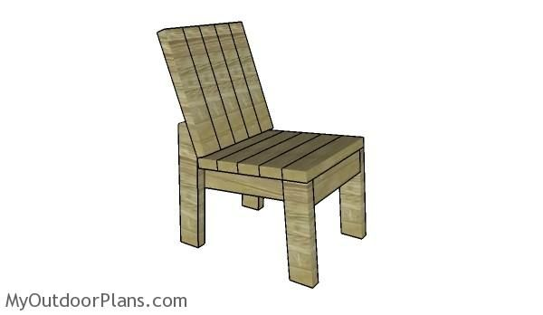 2x4 Chair Plans Myoutdoorplans Free Woodworking Plans And