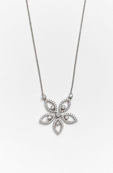 Jack kelge jack kelege diamond flower pendant necklace available at jack kelge jack kelege diamond flower pendant necklace available at nordstrom aloadofball Gallery