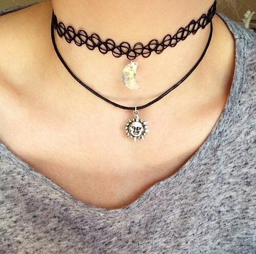 Choker , http://eeryjewelry.com/ #tumblr -  choker necklace