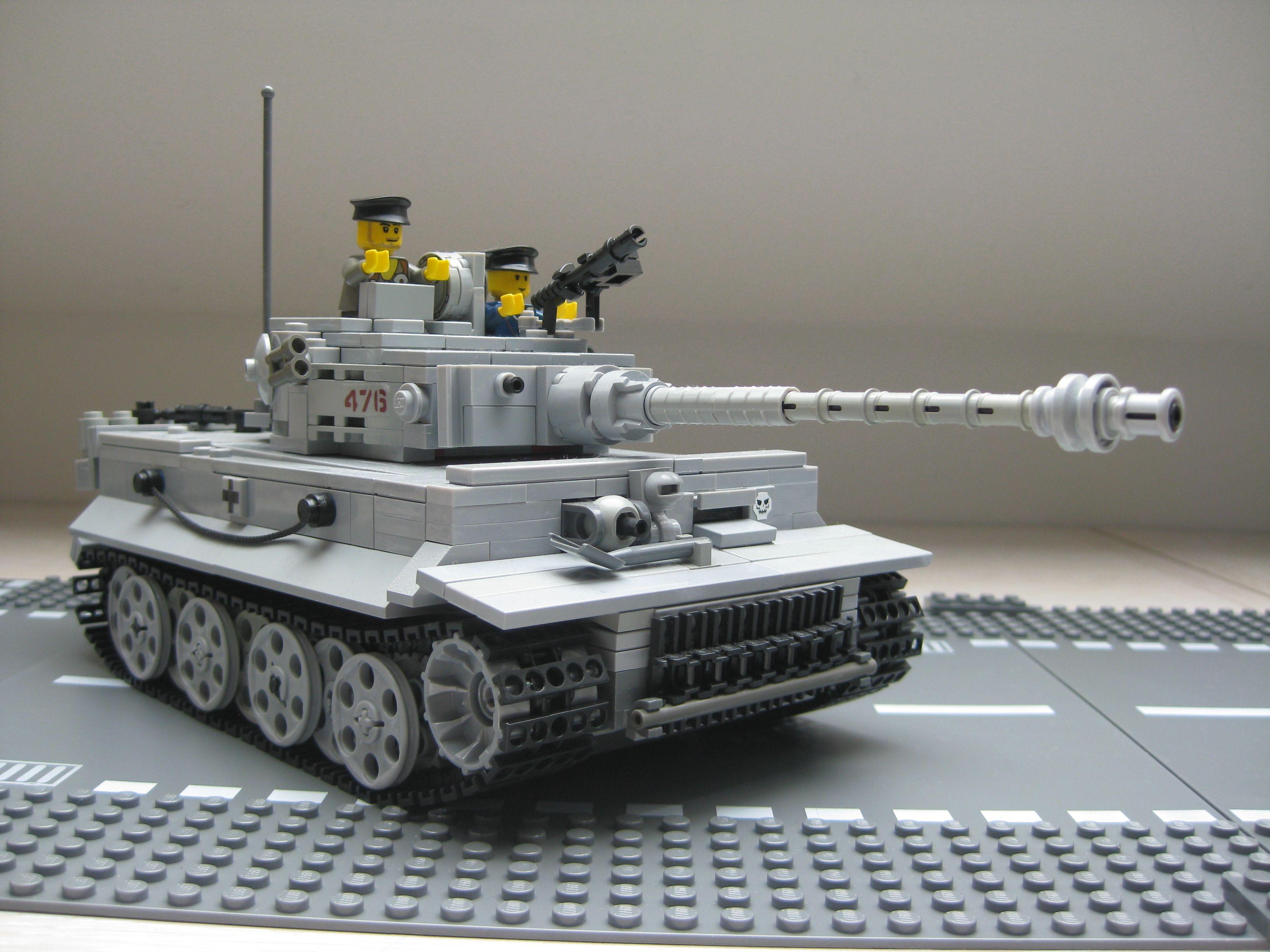 MECHANIZED BRICK Custom LEGO Tiger I Tank Kit
