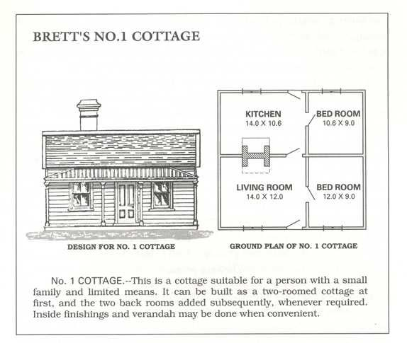 Brett S No 1 Cottage From The Brett S Colonist S Guide Helping