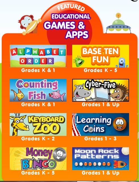 ABCya! Tons of FREE educational computer games for