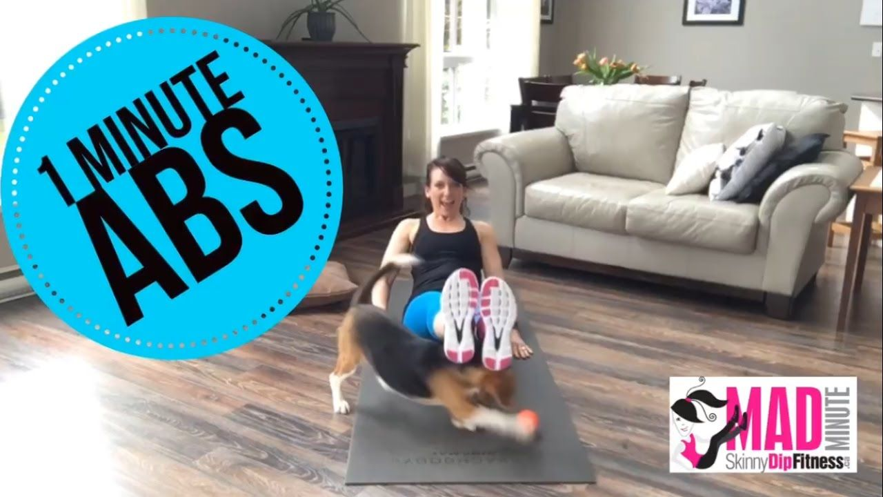 FAST ABS Workout | Flutter-kick V-Sit | Mad Minute Workout